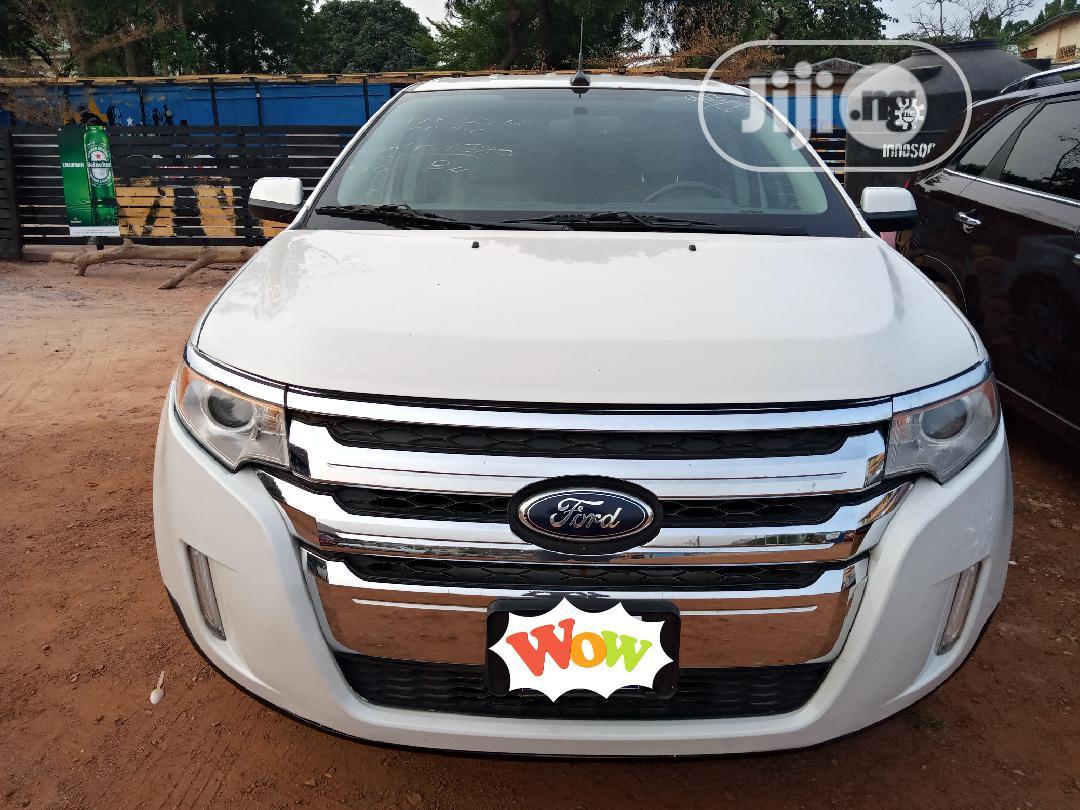 Ford Edge 2013 White