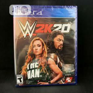 Wwe 2k20 for Playstation 4   Video Games for sale in Lagos State, Ikeja