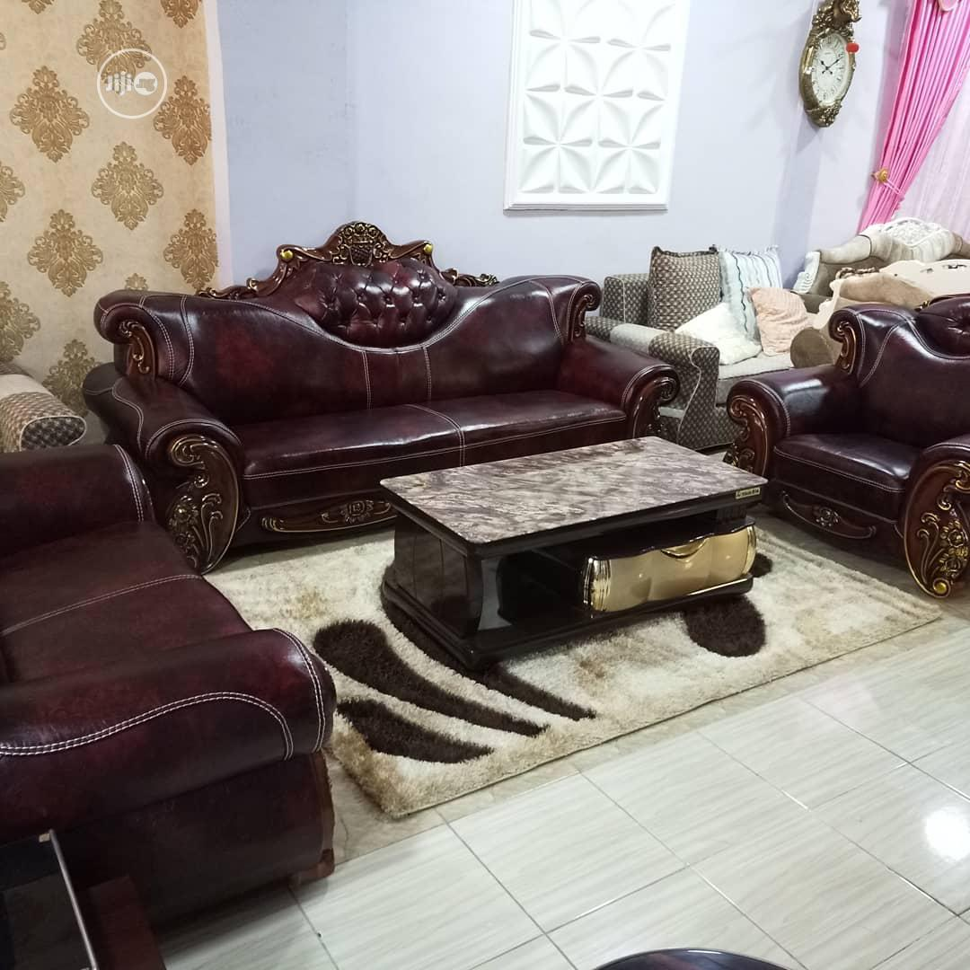 7seater Royal Turkey Sofa Chair. Gurantteed Leather