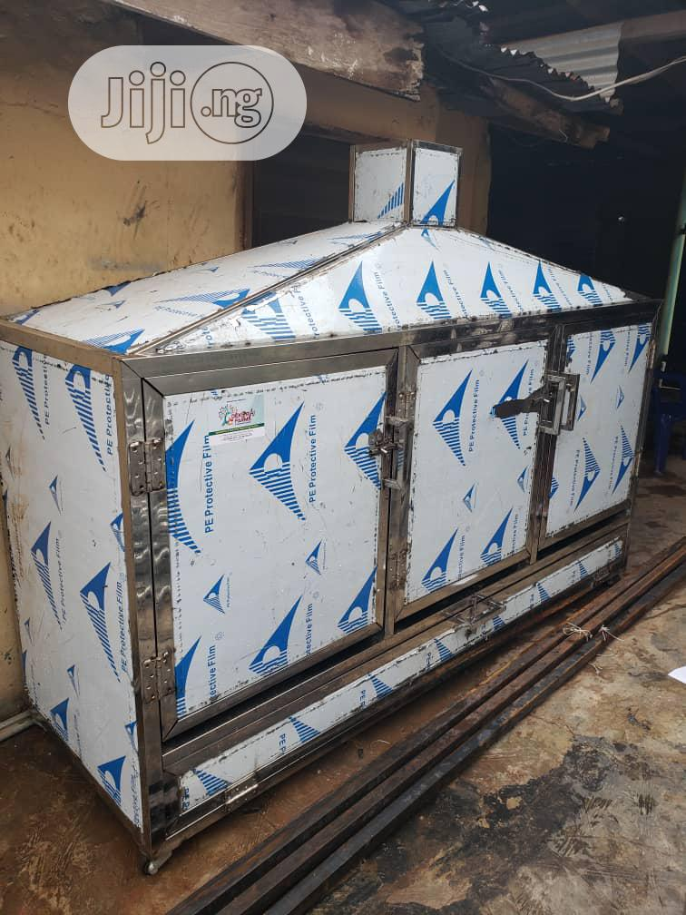 500 ×1kg Size Catfish Stainless Approved Kiln