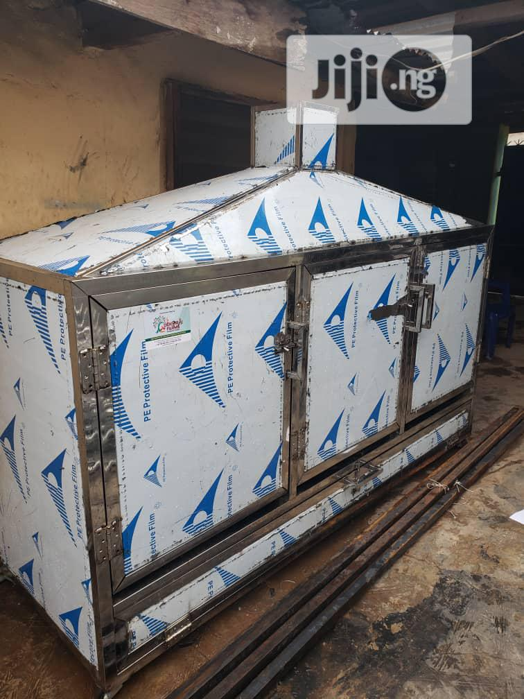 Approved Stainless Smoking Kiln For Intending Fish Exporters