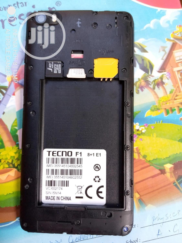 New Tecno F1 8 GB Gold   Mobile Phones for sale in Nsukka, Enugu State, Nigeria