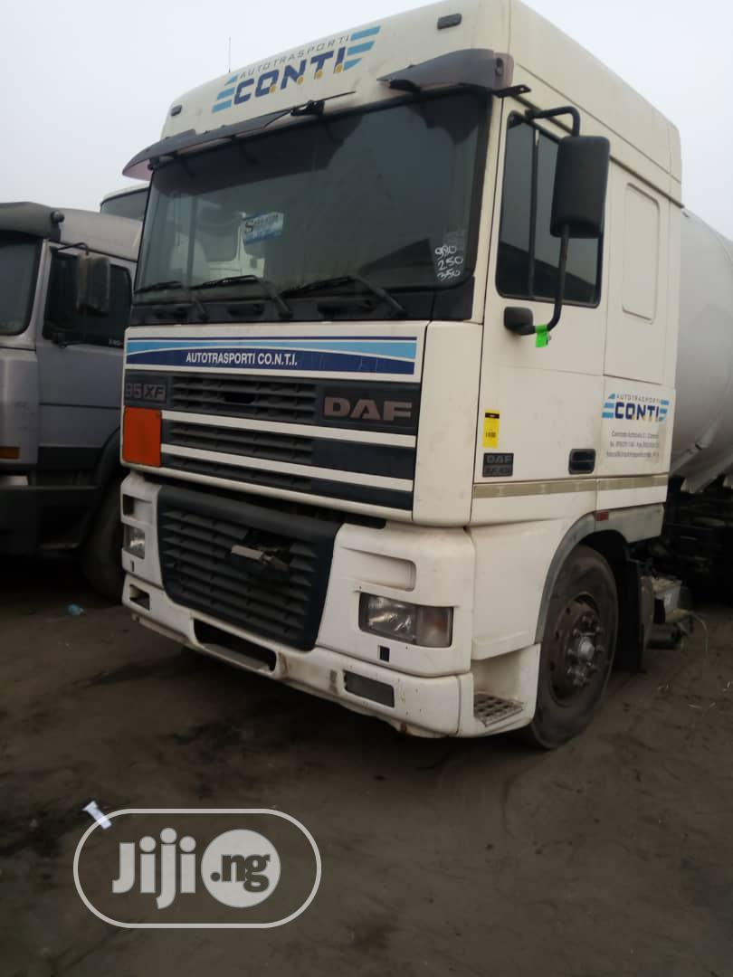 Daf 95 Xf 2002 Bobtail Truck 14 Tons | Trucks & Trailers for sale in Apapa, Lagos State, Nigeria