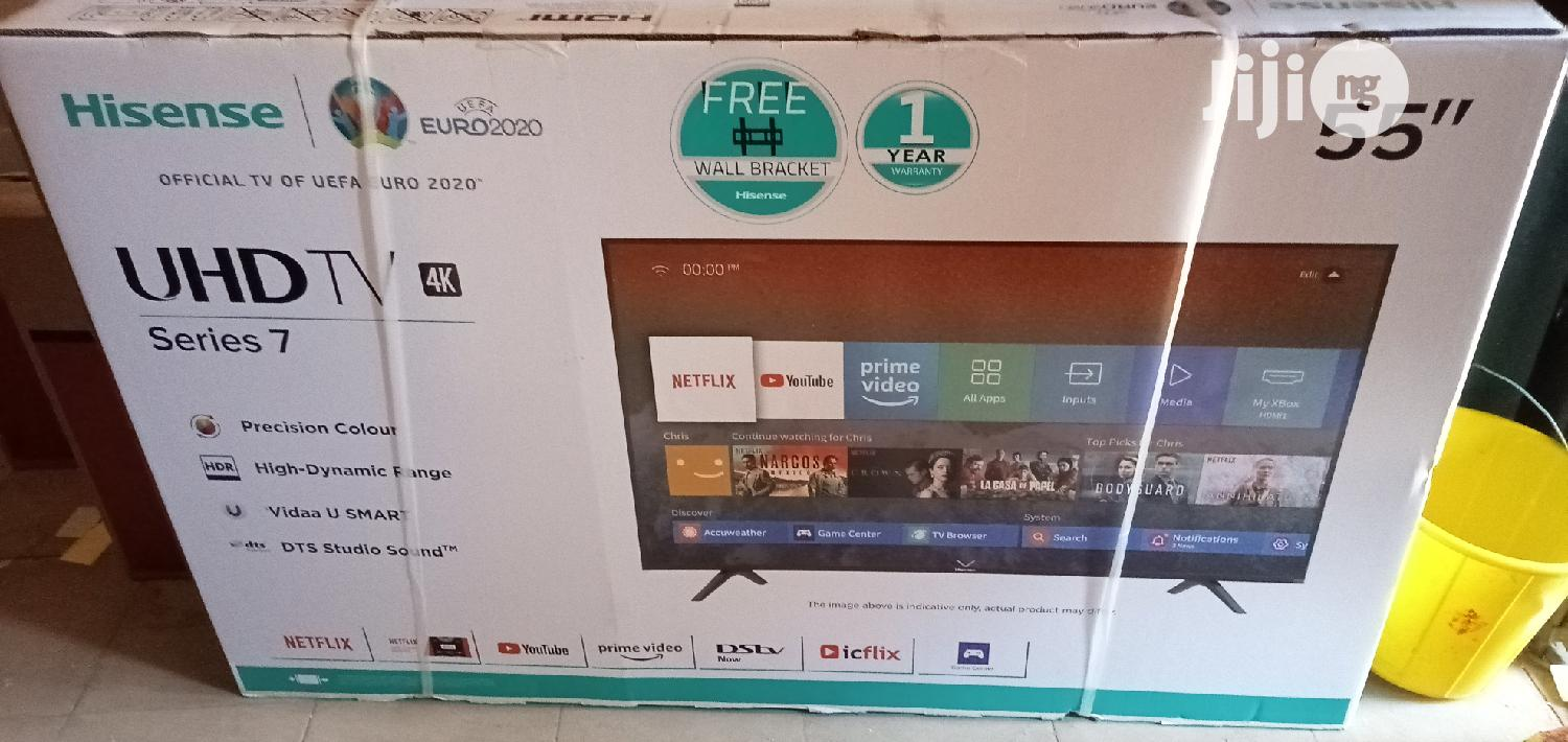 55 Inches Hisens Straight Smart Television