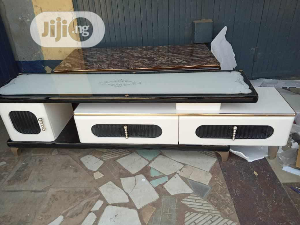 Imported Marble Tv Stand