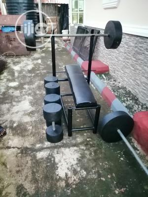 Custom Made Bench Press, Barbells and Dumbbells | Sports Equipment for sale in Abuja (FCT) State, Wuye