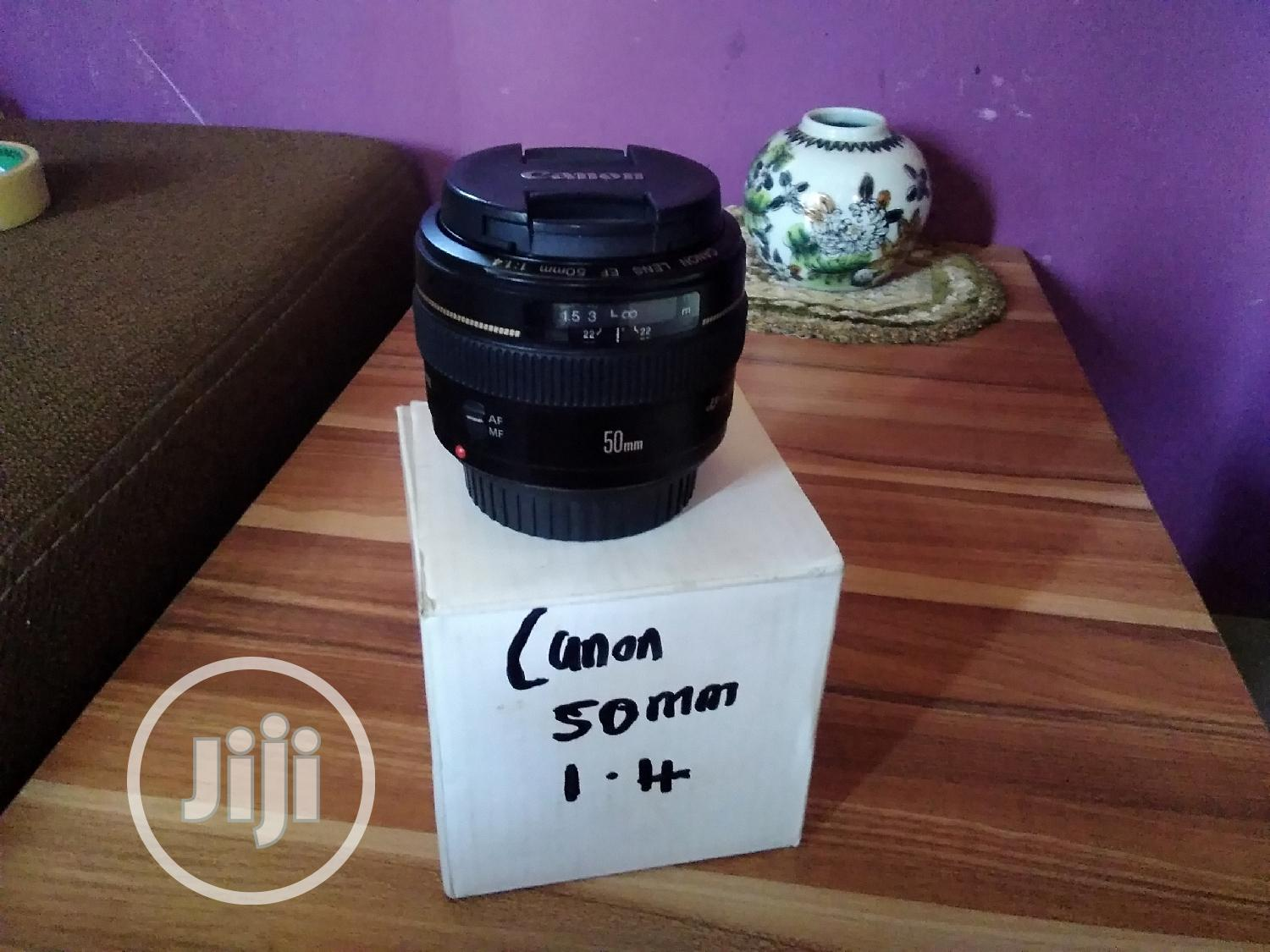 Canon 50mm 1.4 Lens   Accessories & Supplies for Electronics for sale in Alimosho, Lagos State, Nigeria