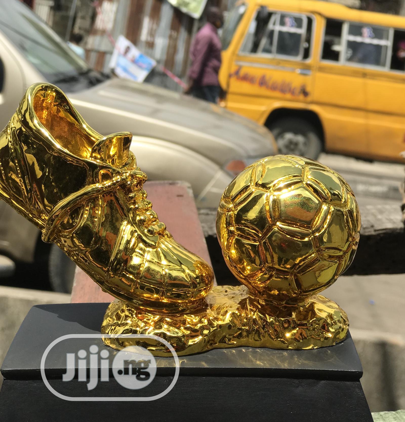 Golden Boot Award Plague