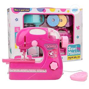 Rose Red Small Household Manual Electric Children Sewing Machine Home | Toys for sale in Lagos State, Amuwo-Odofin