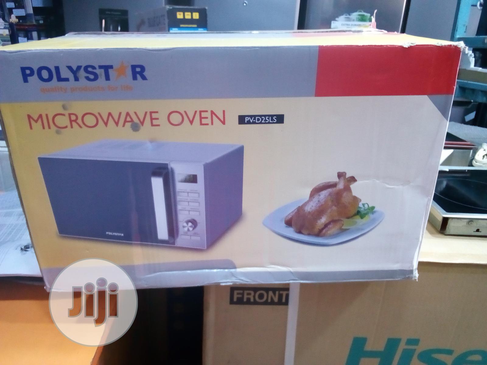 Polystar Microwave 25L   Kitchen Appliances for sale in Yaba, Lagos State, Nigeria