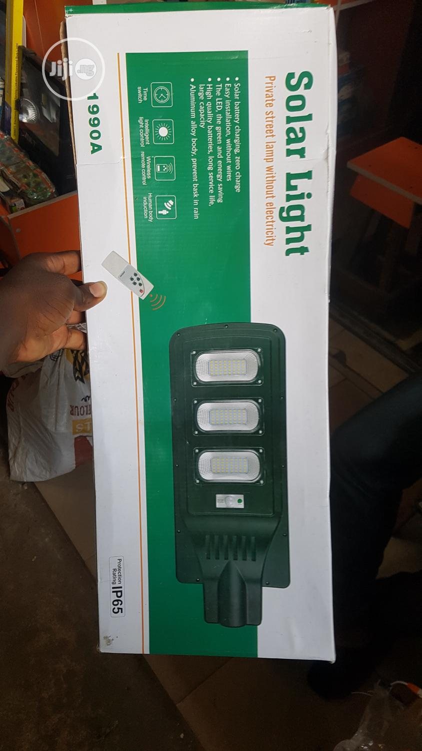 90w All In One Solar Street Light | Solar Energy for sale in Ojo, Lagos State, Nigeria