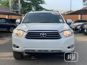 Toyota Highlander 2009 Limited 4x4 White | Cars for sale in Lagos State, Ikeja