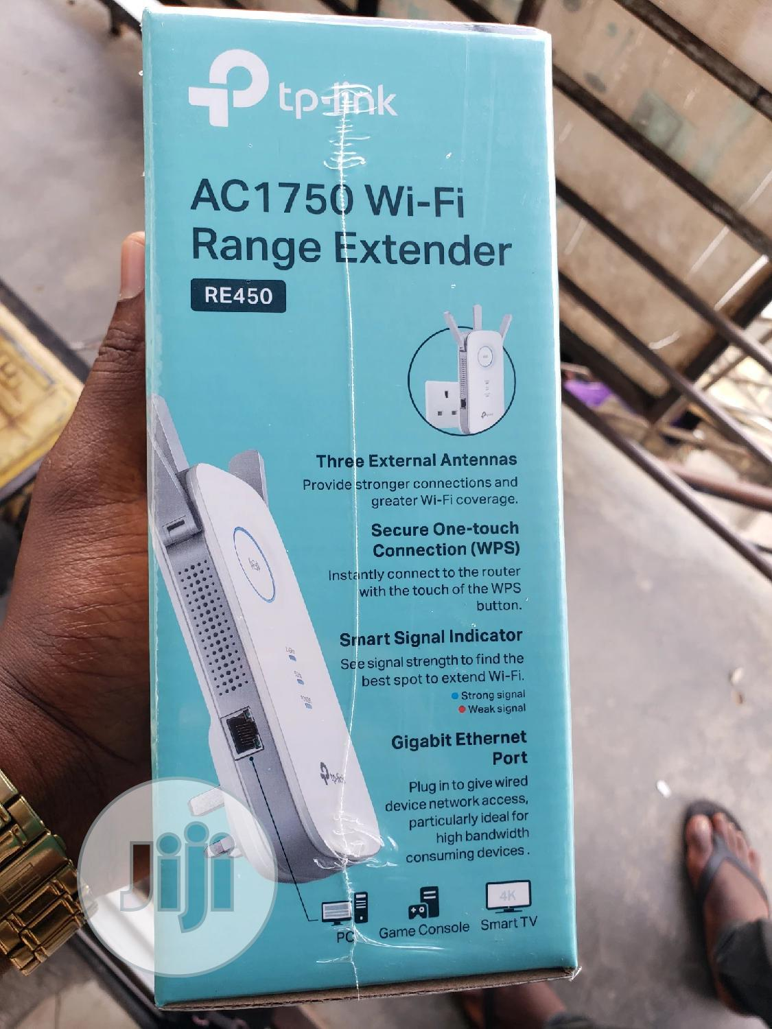 Tp-link Wi-fi Range Extender Ac1750 | Networking Products for sale in Ikeja, Lagos State, Nigeria