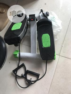 Mini Stepper With Resistance Rope And Counter | Sports Equipment for sale in Lagos State, Surulere