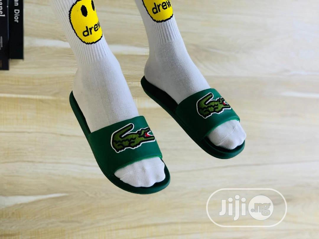 Lacoste Slippers in Surulere - Shoes
