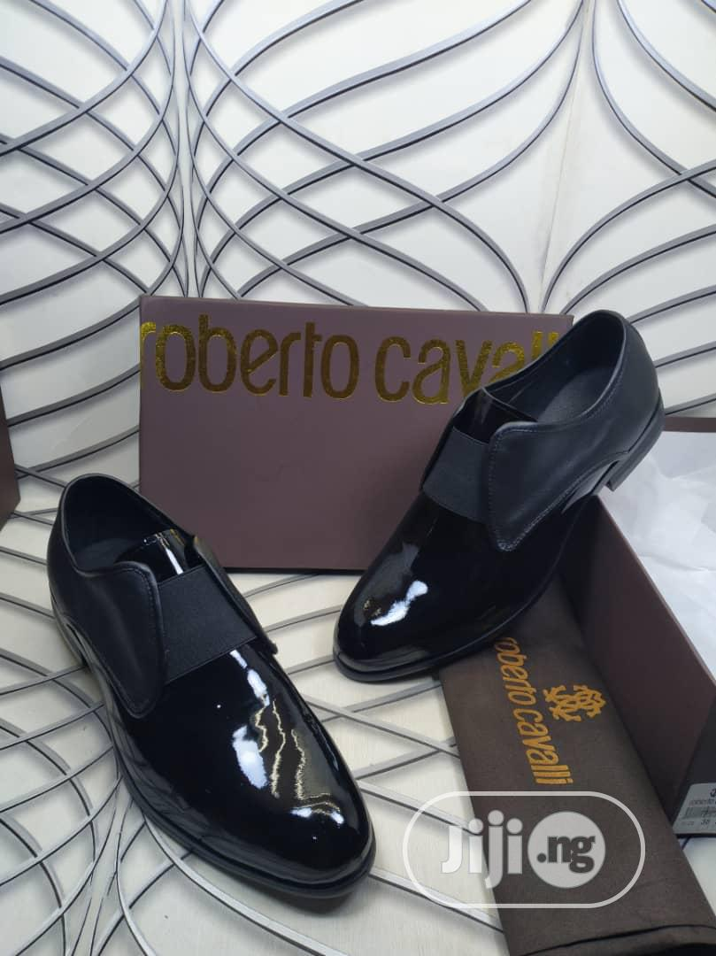 All Black Leather Shoe | Shoes for sale in Ikeja, Lagos State, Nigeria