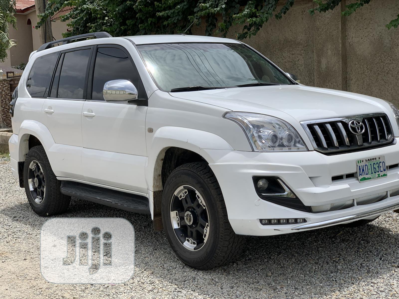 Archive: Toyota Land Cruiser Prado 2008 GX White