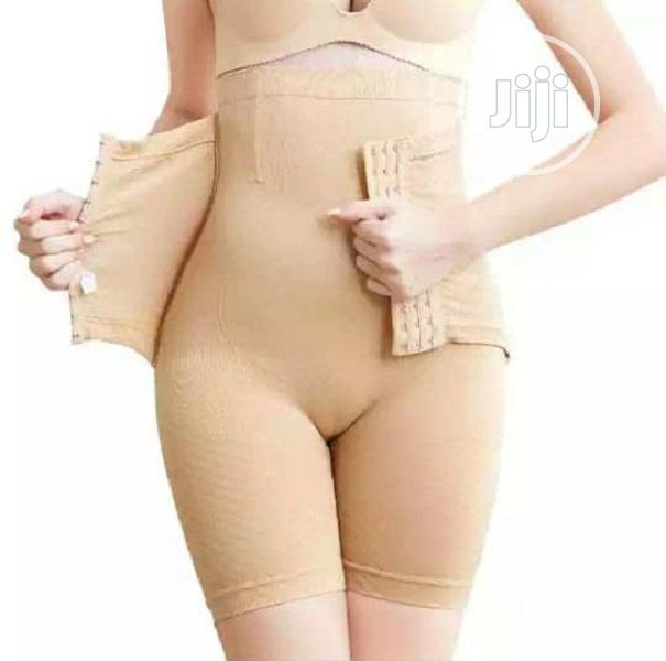 High Waist Seamless Tummy Control Girdle With Tight