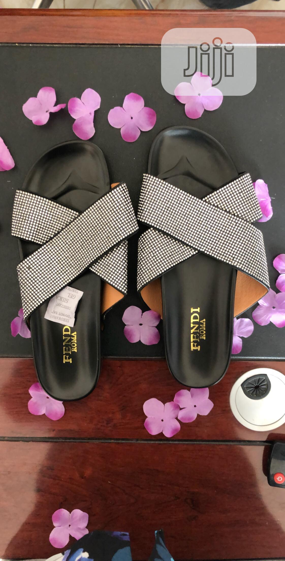 Archive: Fancy Shimmery Slippers For Ladies