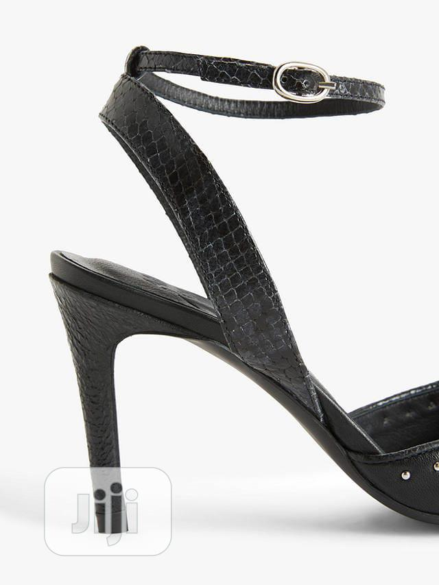 Black Ladies Court Shoe Sling Back   Shoes for sale in Surulere, Lagos State, Nigeria