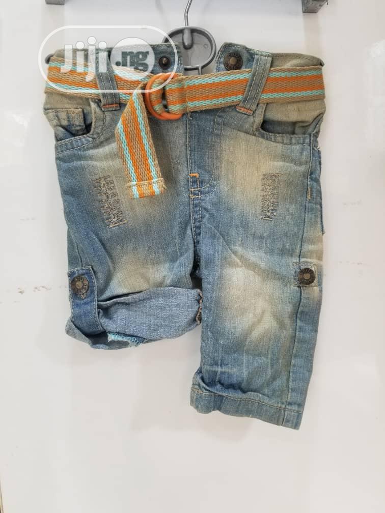 A Denim Jean For A Baby Boy (0~3mths)