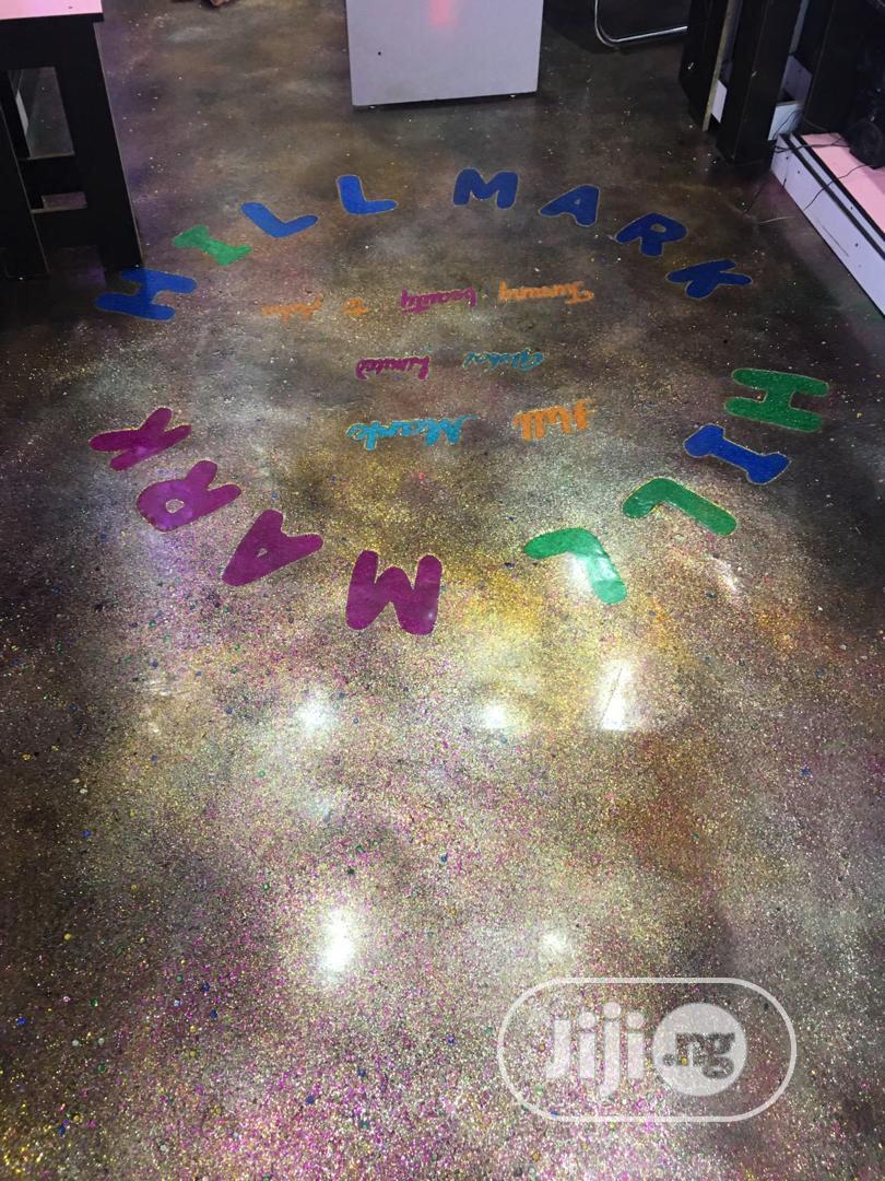 Archive: 3d Aquatic And Aquarium Floor Designs With Metallic Floor Wall Paper