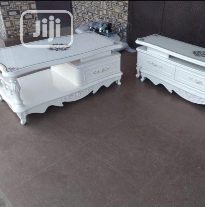 Super Quality Set Of Center Table With TV Stand