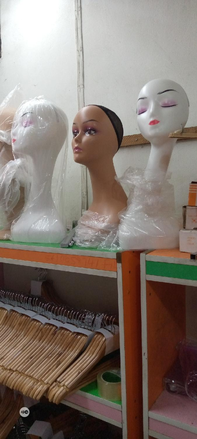 White Long Neck Mannequin Display | Store Equipment for sale in Lagos Island (Eko), Lagos State, Nigeria