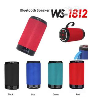 WS-1812 Wireless Portable Bluetooth Speaker With FM Radio   Audio & Music Equipment for sale in Lagos State, Ikeja