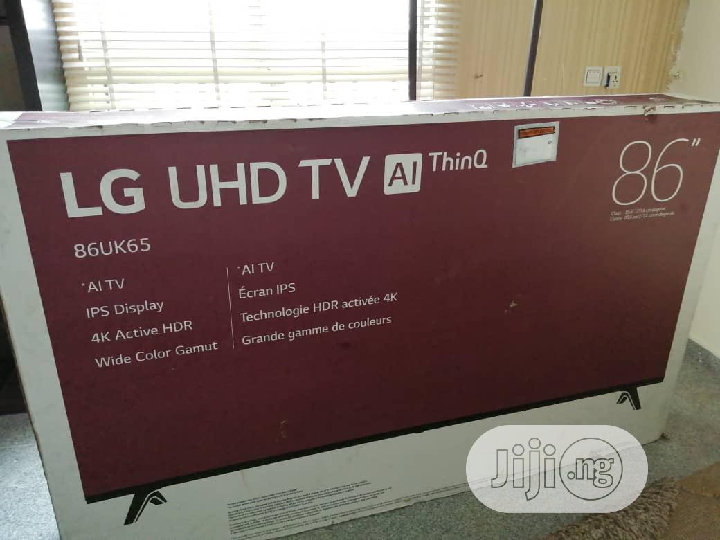 Archive: 86'' LG Smart Uhd TV