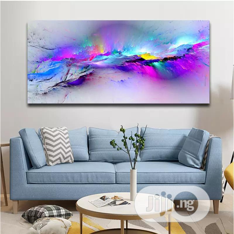 Colourful Framed Artworks