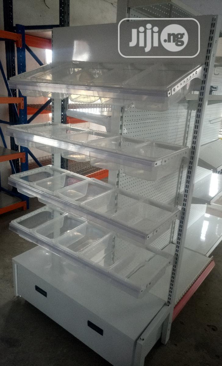 Rubber/Metal Display Shelve