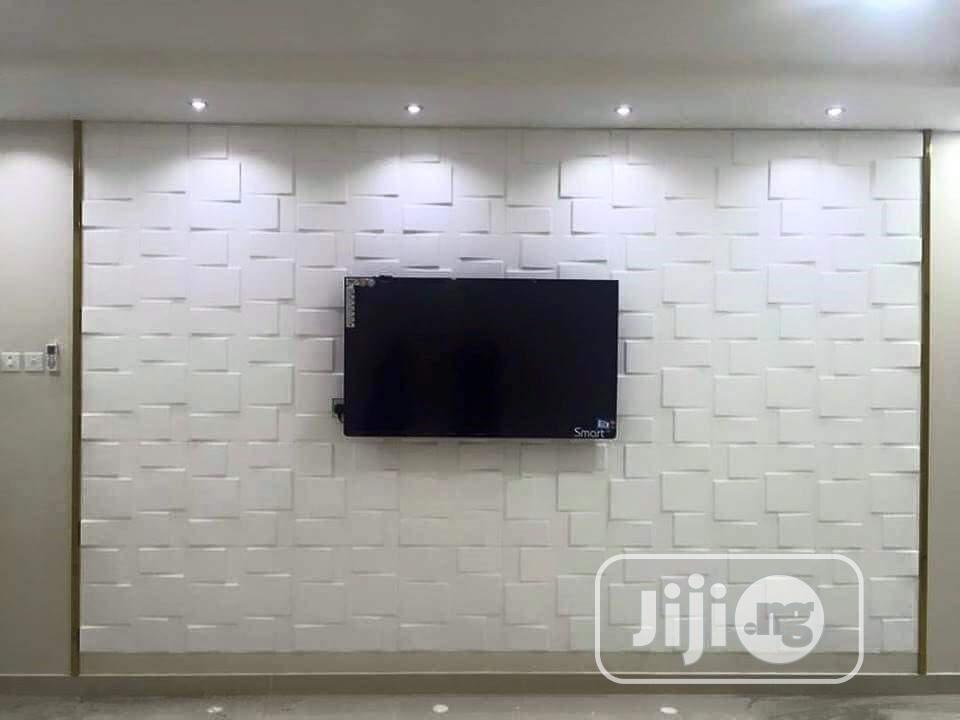 White Designs 3D Wallpanels