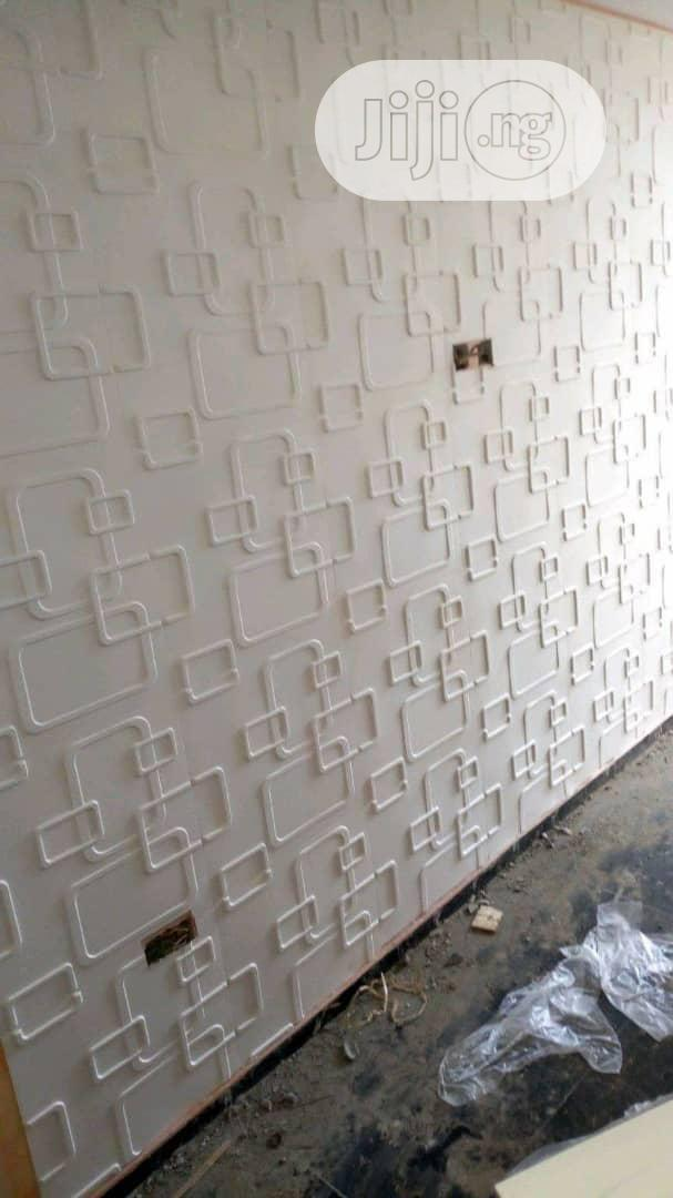 White Designs 3D Wallpanels   Home Accessories for sale in Ikeja, Lagos State, Nigeria