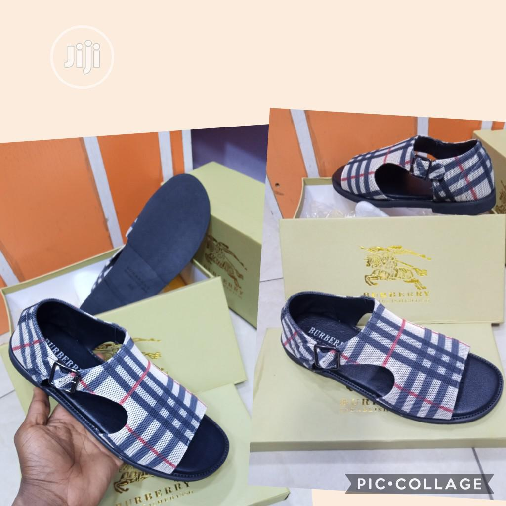 Archive: Burberry Latest Design Sandals