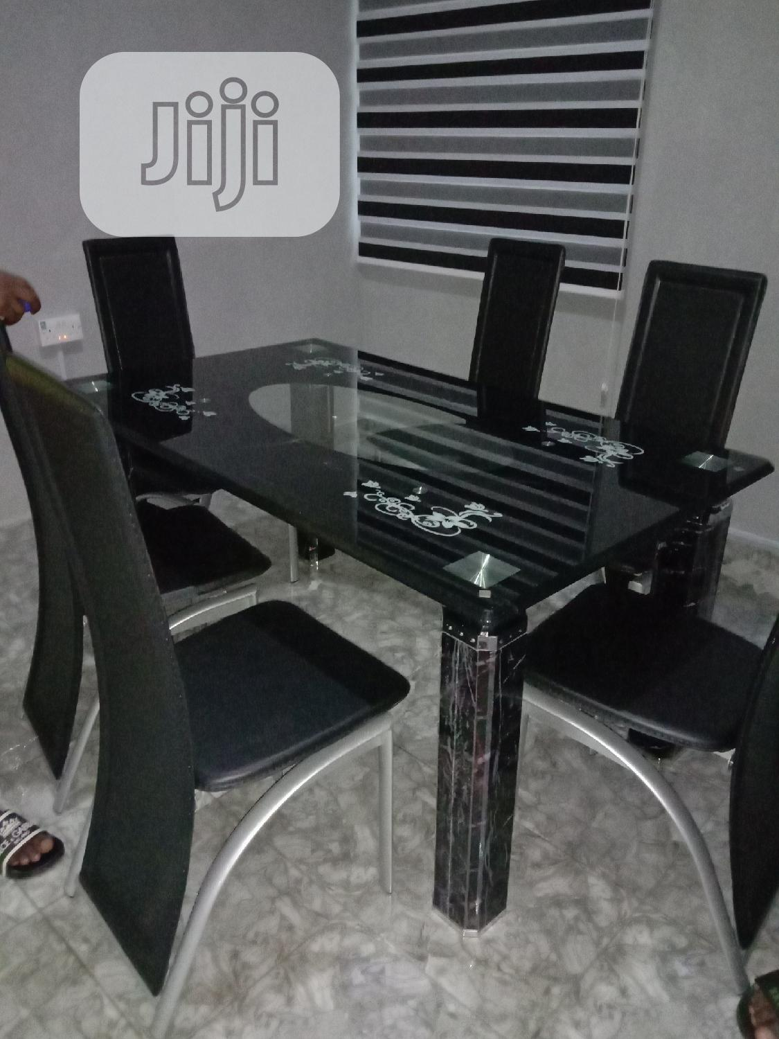 Glass Dining Table by Six