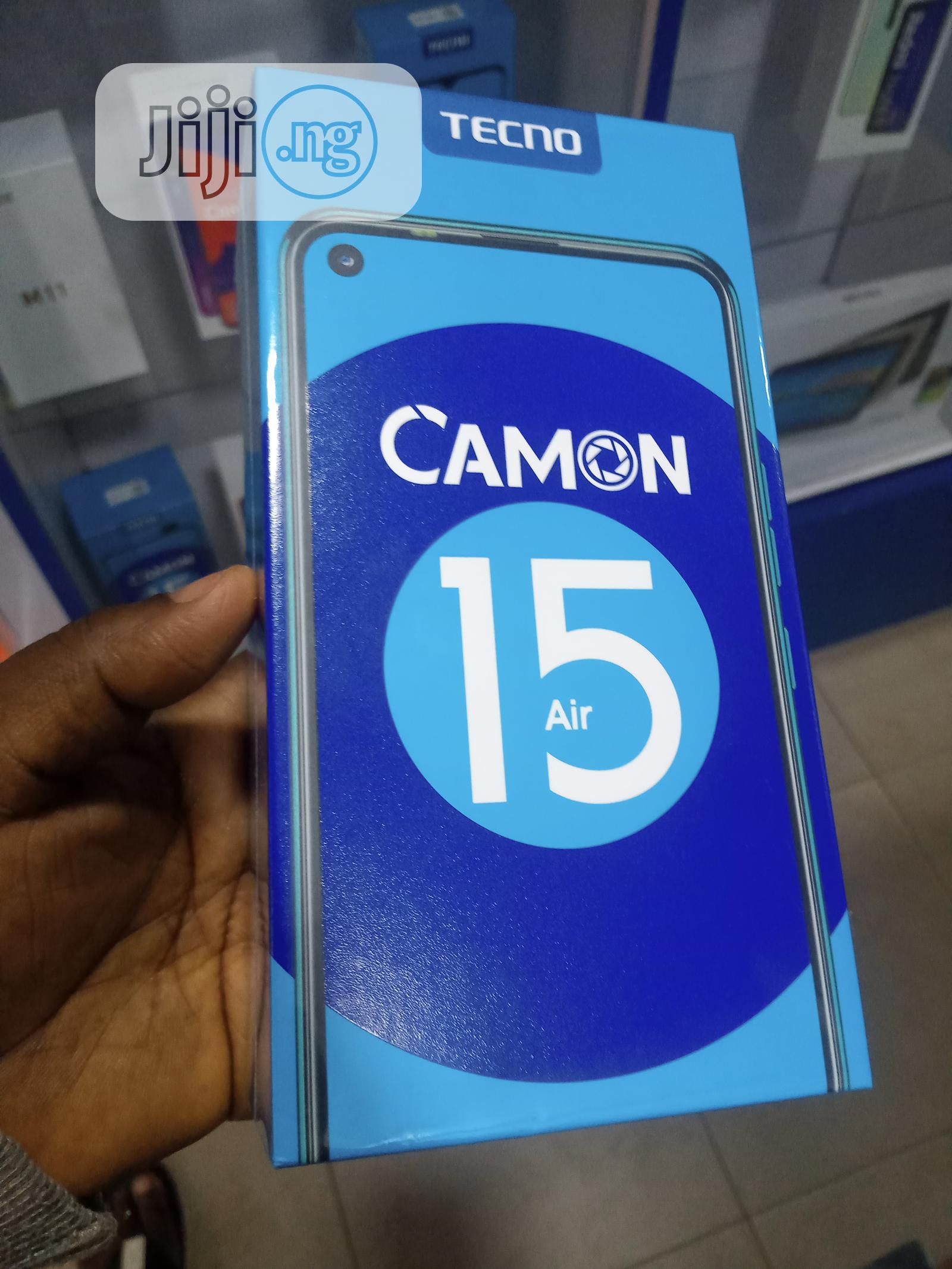 Archive: New Tecno Camon 15 Air 64 GB Black