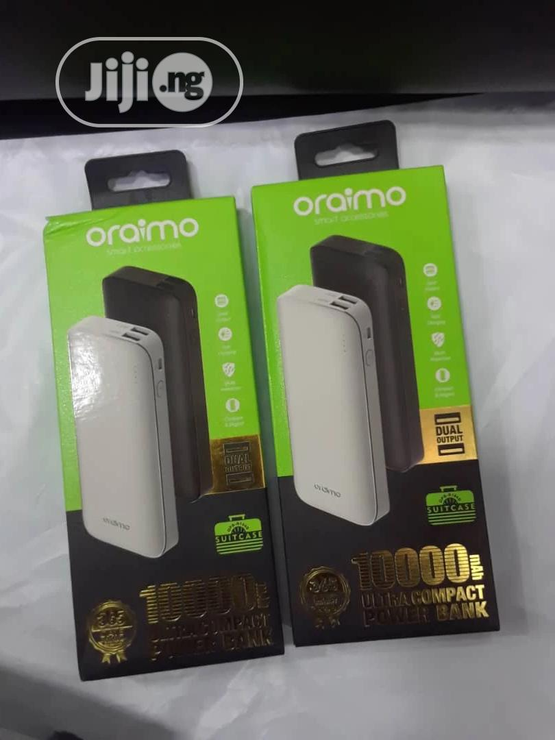 Oraimo Power Bank | Accessories for Mobile Phones & Tablets for sale in Ikeja, Lagos State, Nigeria