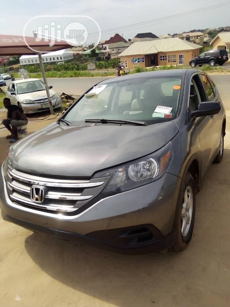 Honda CR-V 2013 EX 4dr SUV (2.4L 4cyl 5A) Gray | Cars for sale in Ibadan, Oyo State, Nigeria