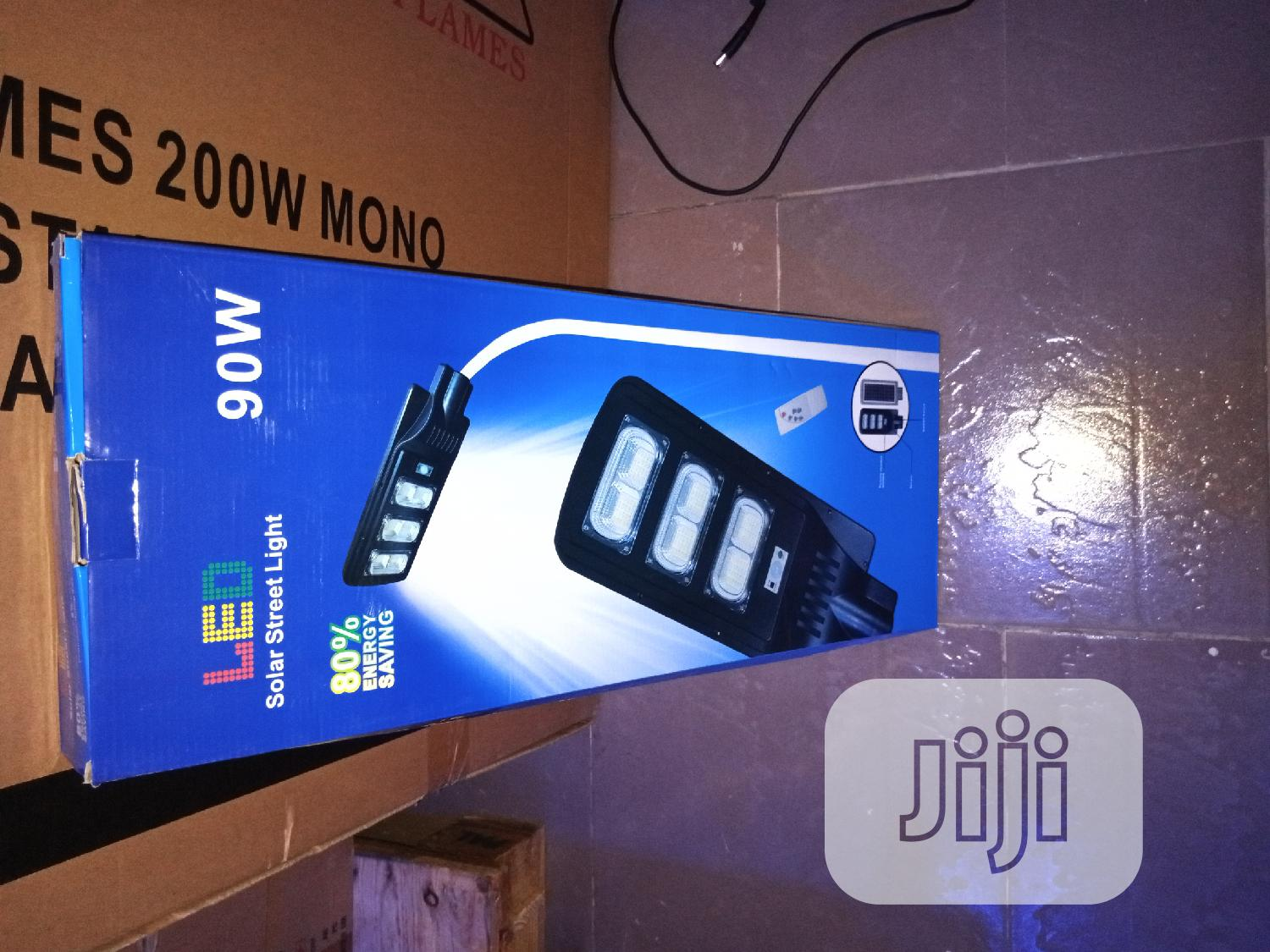 Solar All In One LED Light 90w | Solar Energy for sale in Ikeja, Lagos State, Nigeria