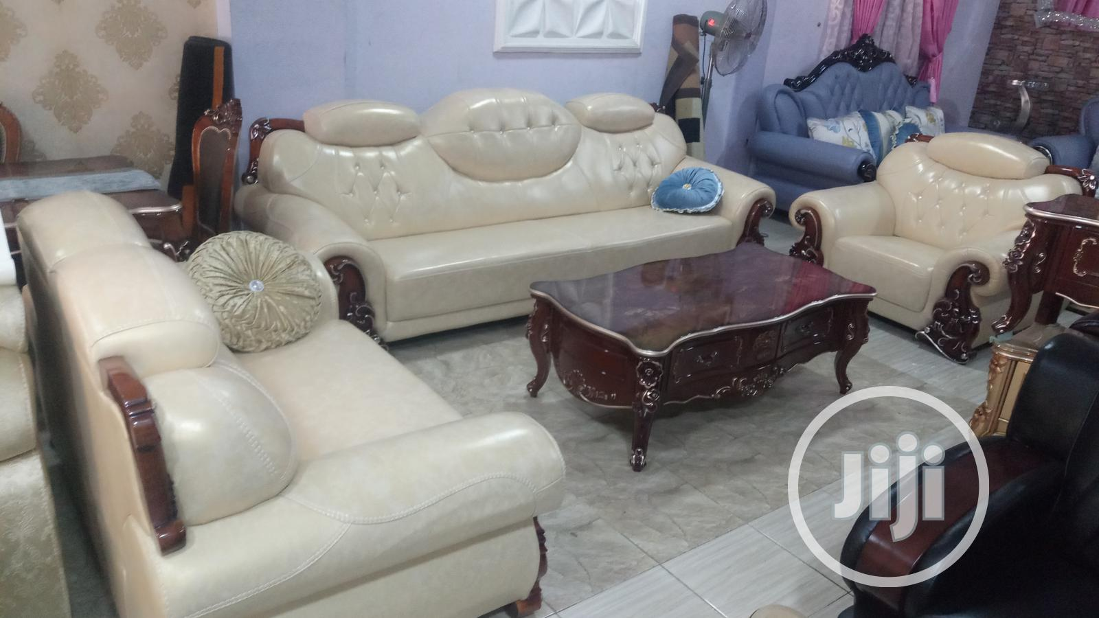 Archive: Brand New Smart Turkey 7-Seater Leather Sofa Chair