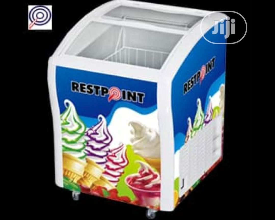 Ice Cream Freezer. Restpoint Single Door