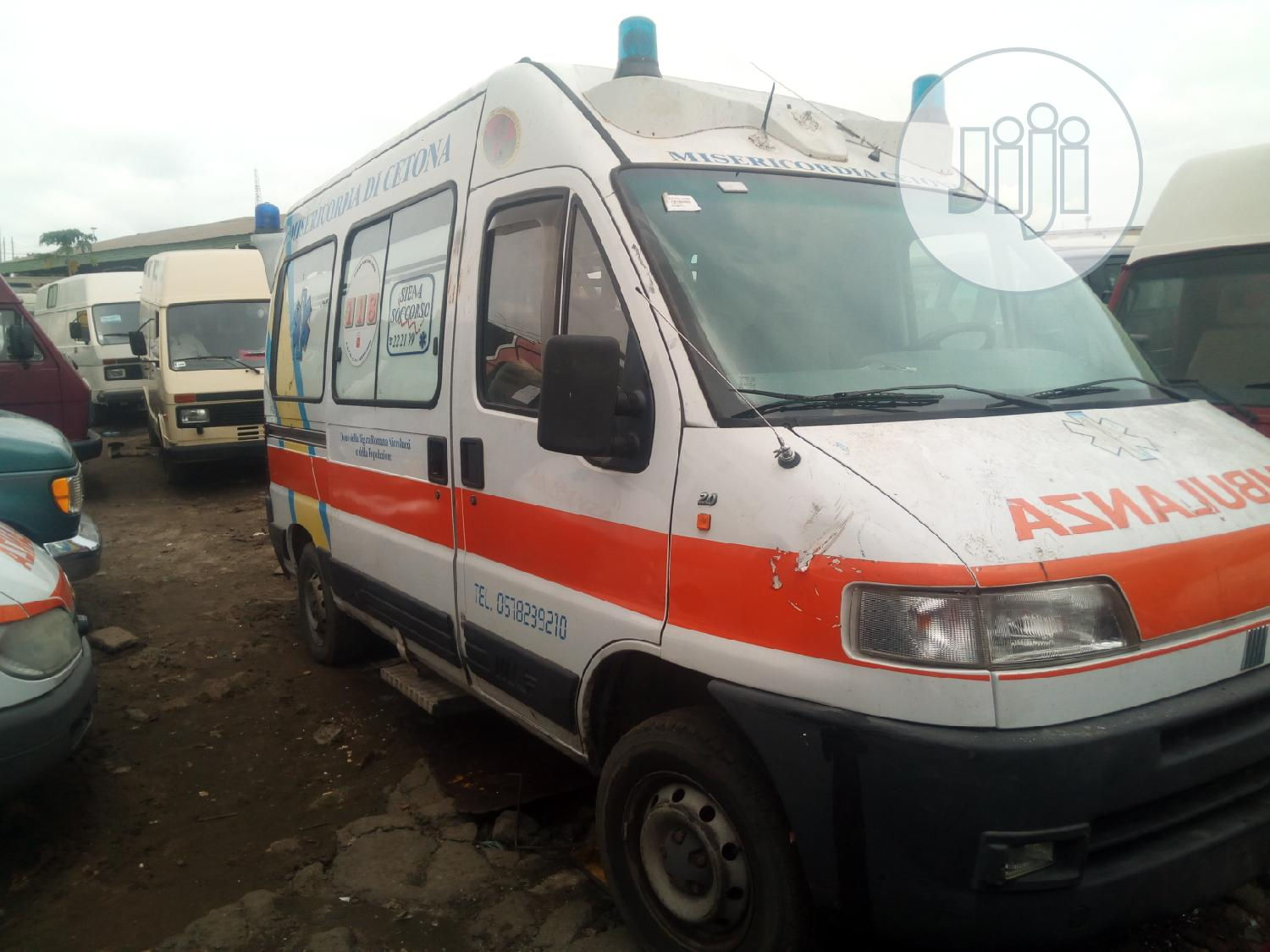 Fiat Ducato Ambulance Petrol 2000 | Buses & Microbuses for sale in Apapa, Lagos State, Nigeria