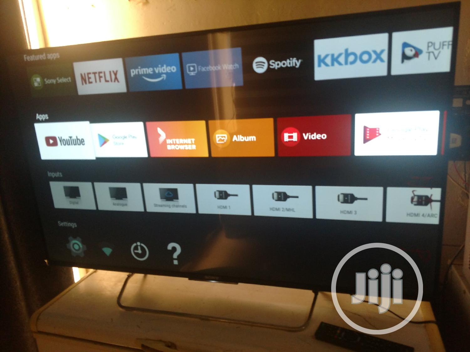 50 Inch Sony Android Smart Tv | TV & DVD Equipment for sale in Lokogoma, Abuja (FCT) State, Nigeria