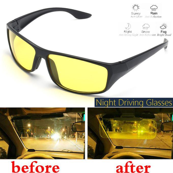Night Driving Sunglasses Anti Glare Vision Driver Safety