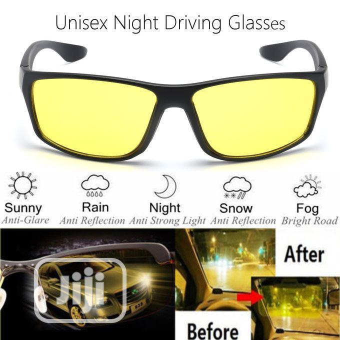 Night Driving Sunglasses Anti Glare Vision Driver Safety | Clothing Accessories for sale in Mushin, Lagos State, Nigeria