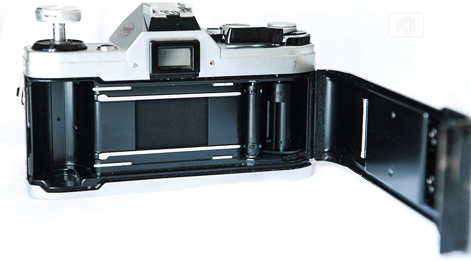 Canon AE-1 35mm Film Camera W/ 50mm 1:1.8 Lens | Accessories & Supplies for Electronics for sale in Ajah, Lagos State, Nigeria
