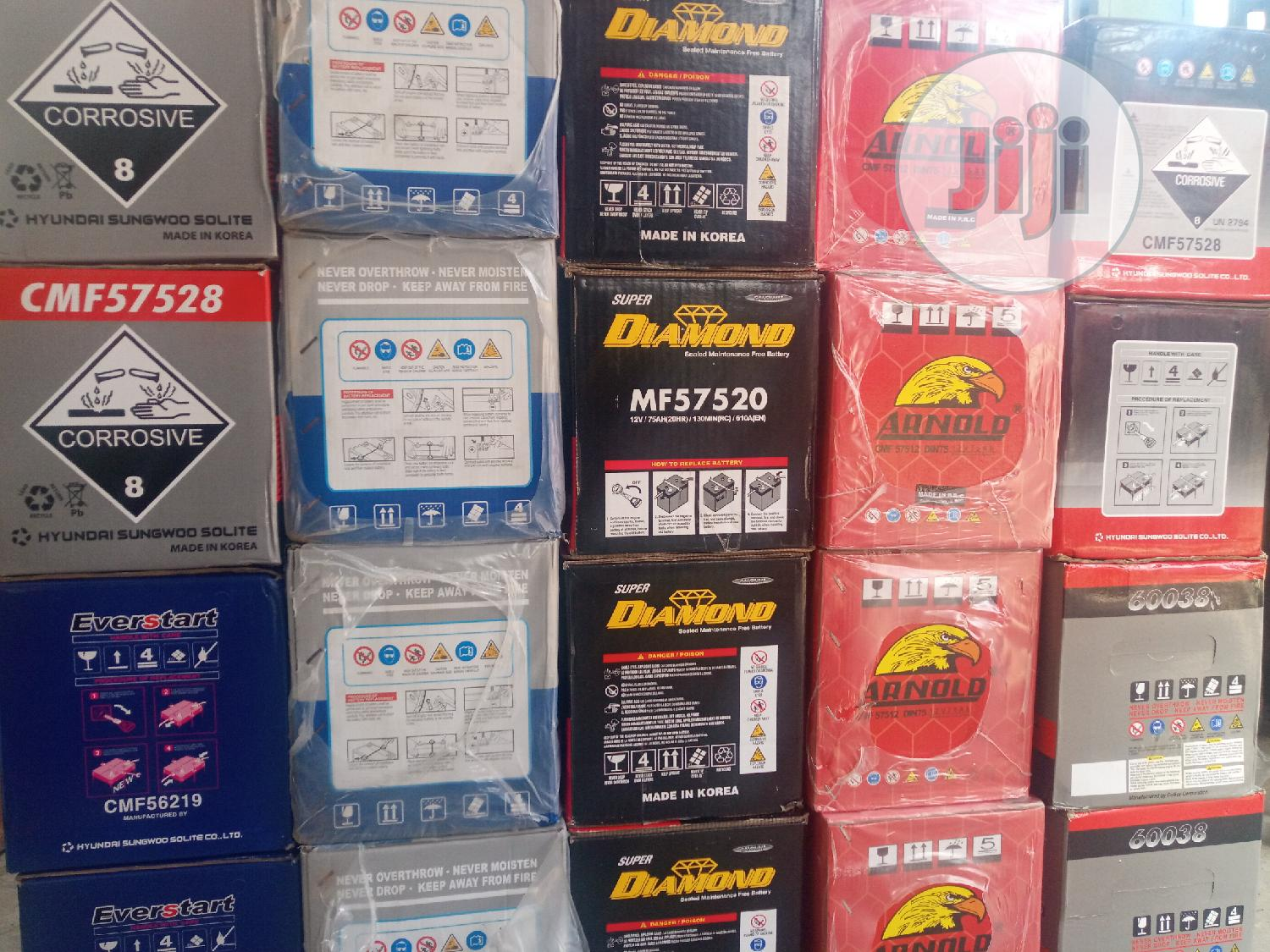 12v 75A Batteries | Vehicle Parts & Accessories for sale in Surulere, Lagos State, Nigeria
