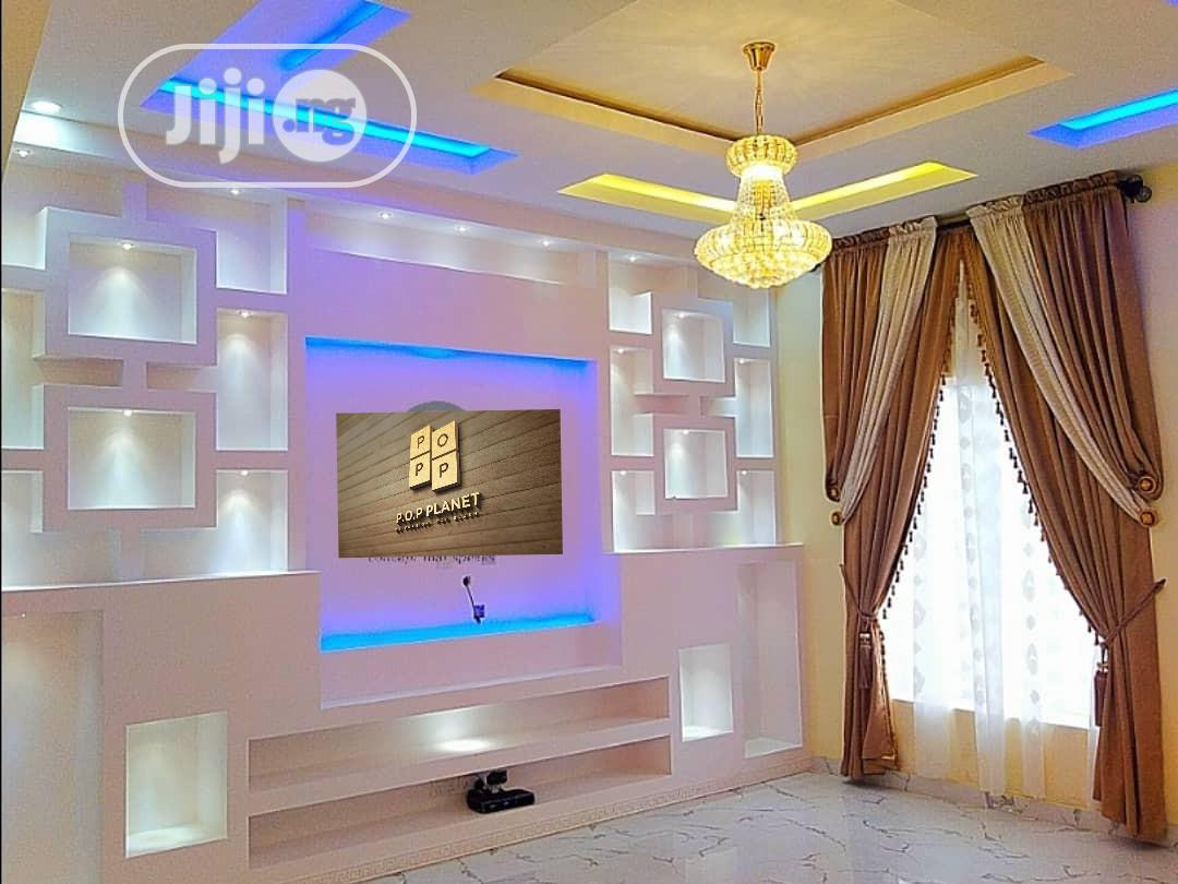 POP Wall Screeding, POP Ceiling, Tv Stand   Building & Trades Services for sale in Eleme, Rivers State, Nigeria