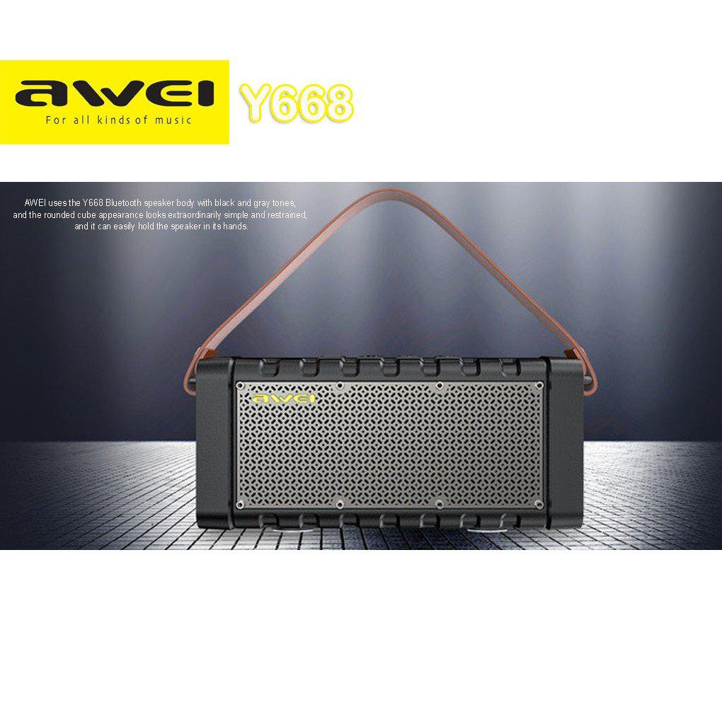 Awei Y668 Bluetooth Wireless Speaker With Powerbank | Audio & Music Equipment for sale in Ikeja, Lagos State, Nigeria